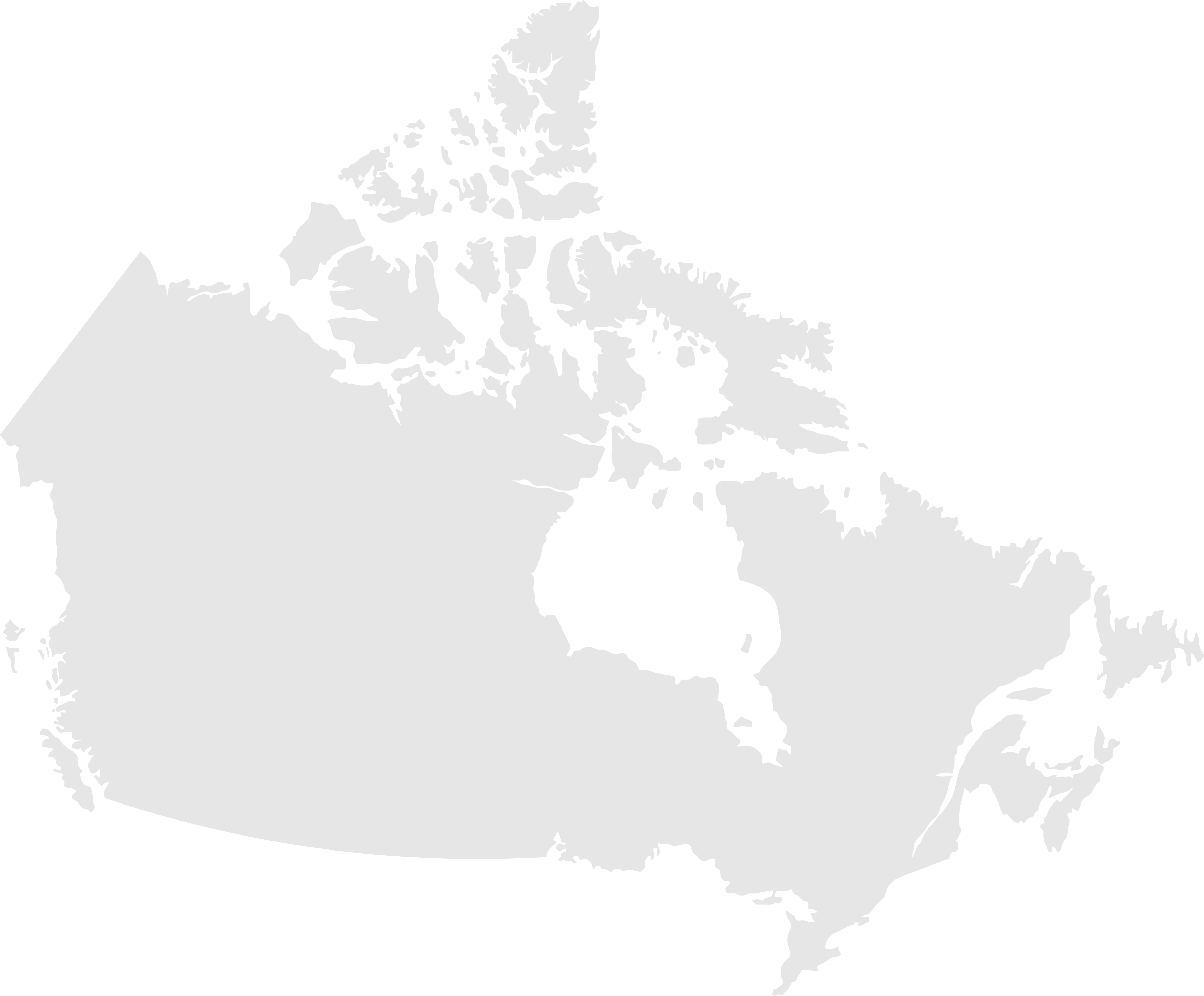 a map of Canada.