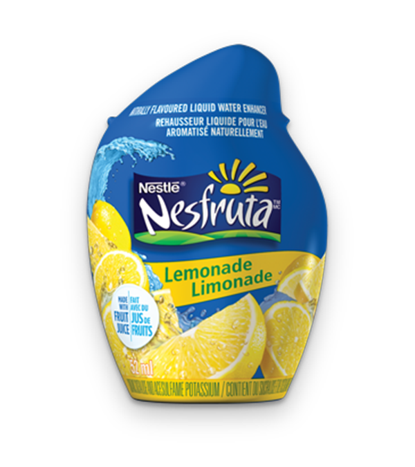NESFRUTA Lemonade, Naturally Falvoured Liquid Water Enhancer, 52ml makes 26 servings.
