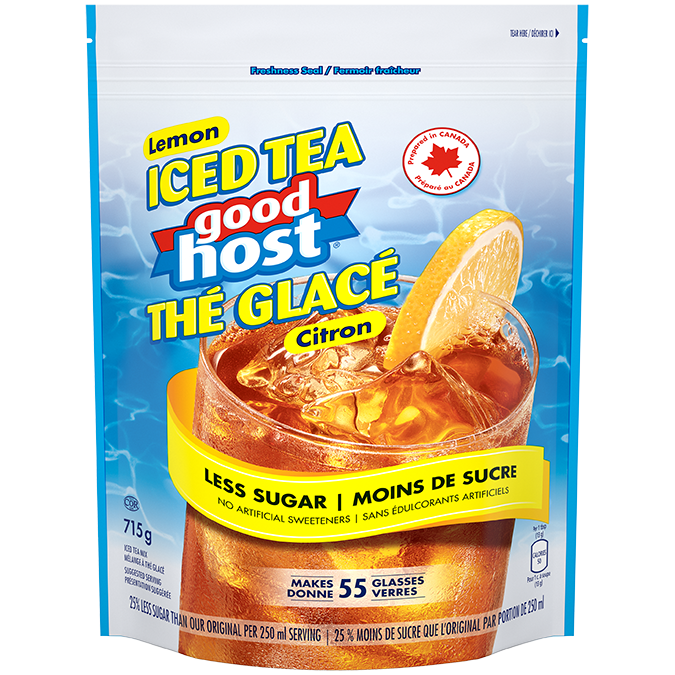 Good Host Lemon Iced Tea With Less Sugar Nestle Canada