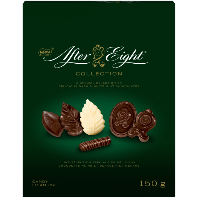 AFTER EIGHT Chocolate Collection, 150 grams.