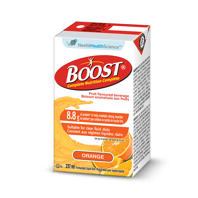 BOOST Fruit Flavoured Beverage - Orange, 237 ml