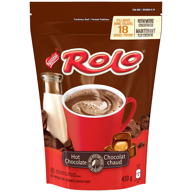 ROLO Hot Chocolate Powder, 450 grams.