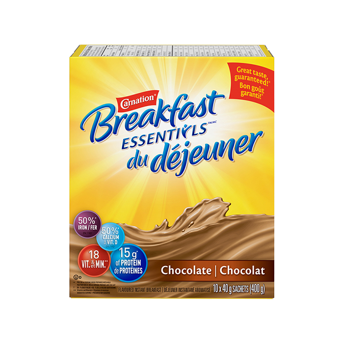 Carnation Breakfast Essentials Powder Drink Mix Chocolate