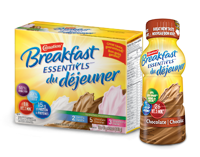 Carnation Breakfast Essentials produit coup