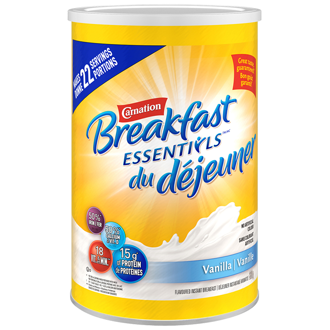 Carnation Breakfast Essentials Powder Drink Mix - Vanilla