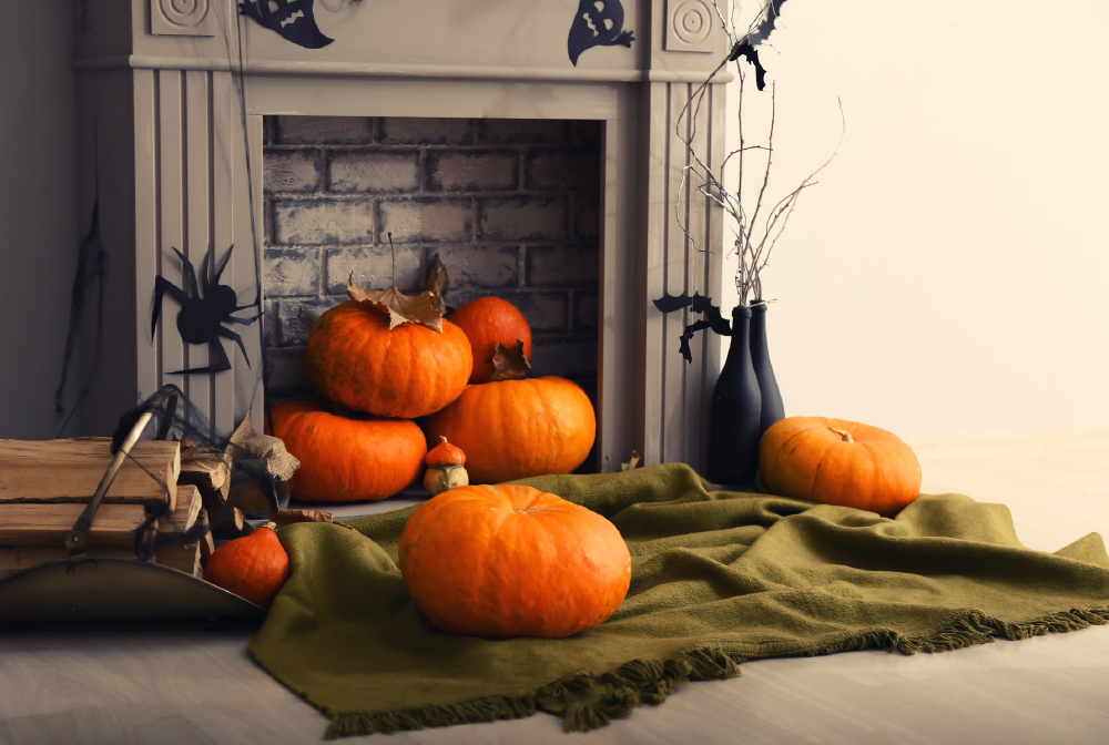If you don't have flames to warm up your fireplace, try firey 