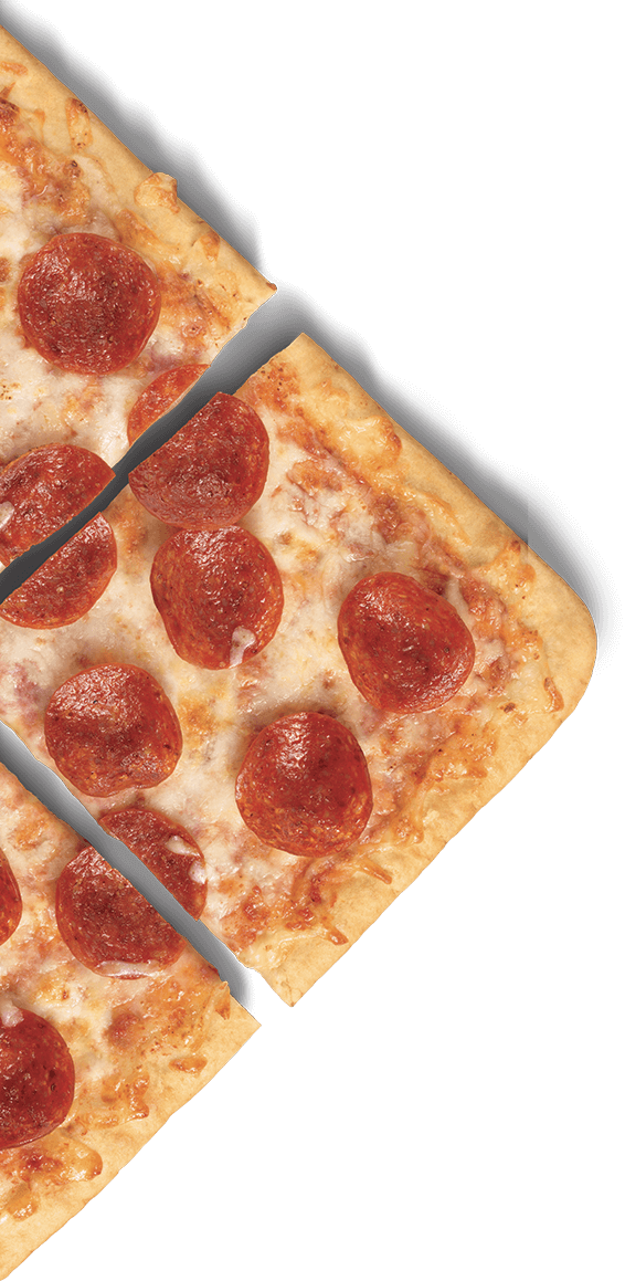 New DELISSIO Thin Crispy Crust Pizza