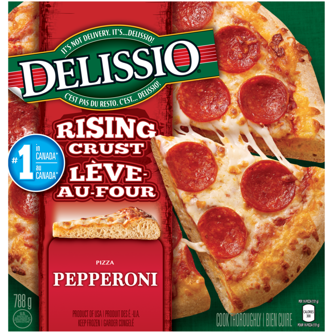 Delissio Rising Crust Pepperoni Madewithnestle
