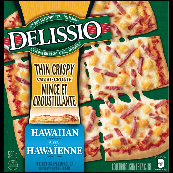 Delissio Thin Crispy Crust Hawaiian Madewithnestle