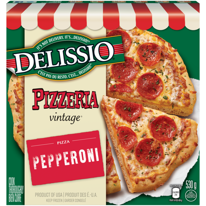 Delissio Pizzeria Vintage Pepperoni Madewithnestle
