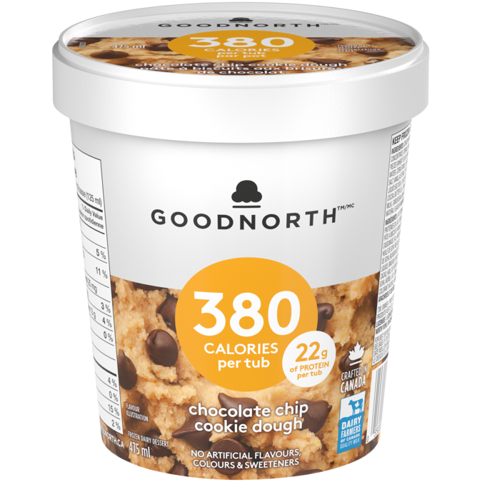 Goodnorth Chocolate Chip Cookie Dough Nestle Canada