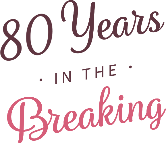 80 years in the breaking
