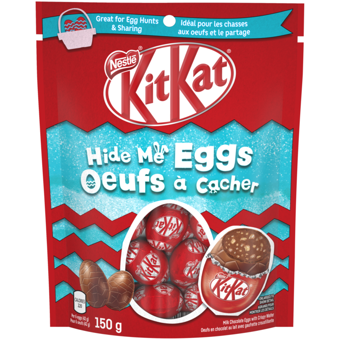 Kitkat Easter Hide Me Chocolate Eggs Nestle Canada