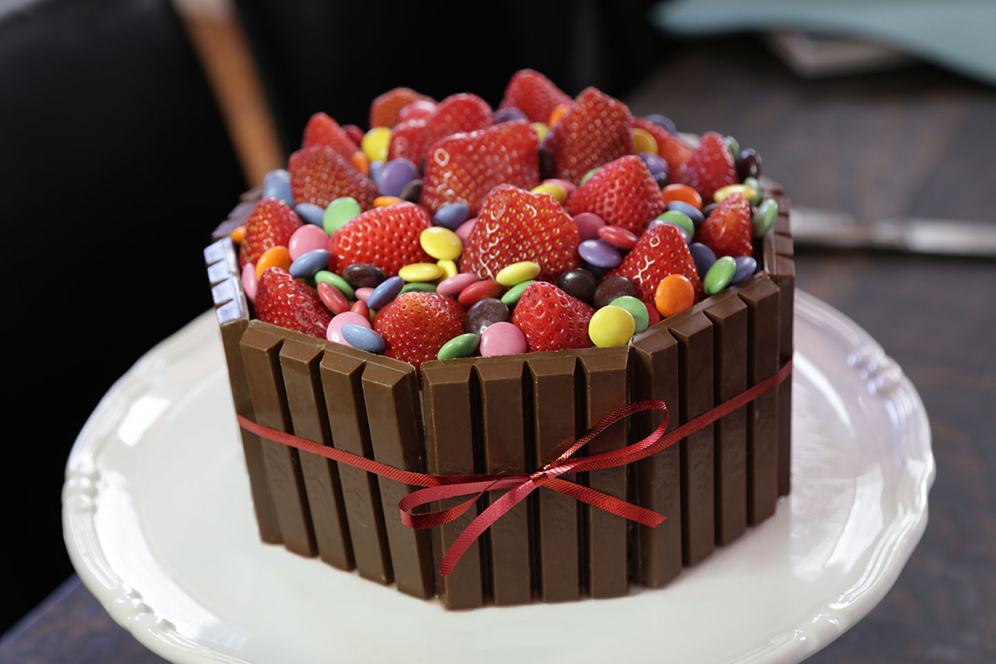 Kit Kat Smarties Cake Madewithnestle