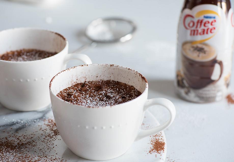 Coffee Mate Mug Cake