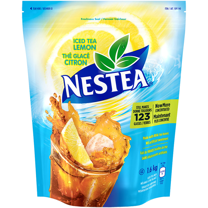 NESTEA Lemon Iced Tea Mix, 1.6 kl