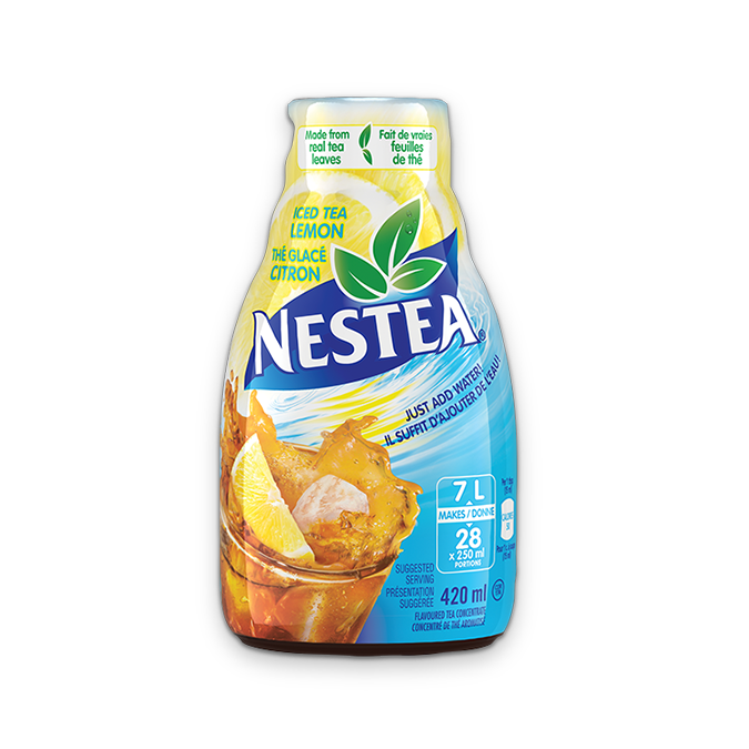 NESTEA Iced Tea Lemon Flavoured Tea Concentrate, 420ml.