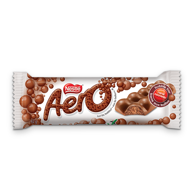 Aero Milk Chocolate Bubble Bar Madewithnestle Ca