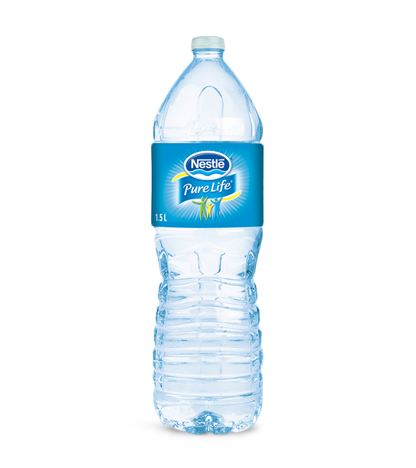 Nestl pure life natural spring water 1 5 l pet bottle - Chemise coin plastique transparent ...