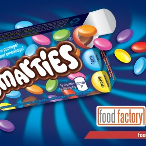Nestlé® SMARTIES® featured on Food Factory