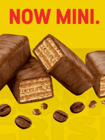 Coffee Crisp, Now Mini.