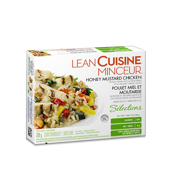 Lean cuisine honey mustard chicken for Are lean cuisine pizzas healthy