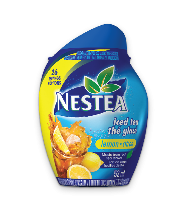 NESFRUTA Lemon, Naturally Flavoured Liquid Water Enhancer, 52ml makes 26 servings.
