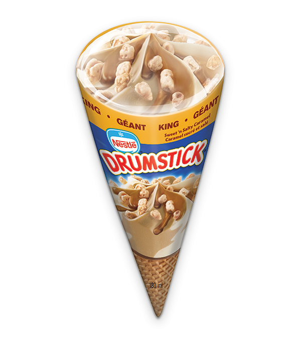 DRUMSTICK King Sweet n' Salty Caramel, 180 ml.