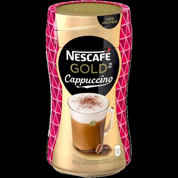 Café NESCAFE Gold Cappuccino, 250 grammes.