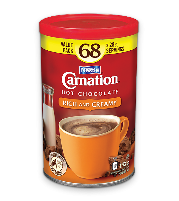 Carnation hot chocolate coupons canada