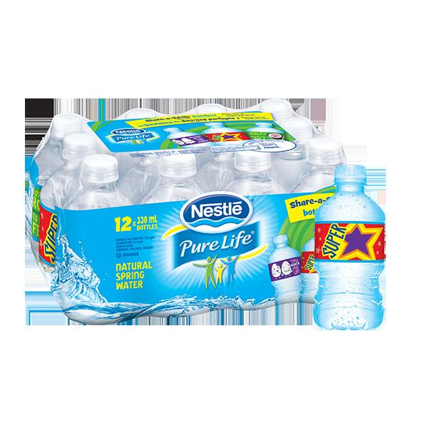 Nestlé® Pure Life® Natural Spring Water 500 ml PET Bottle