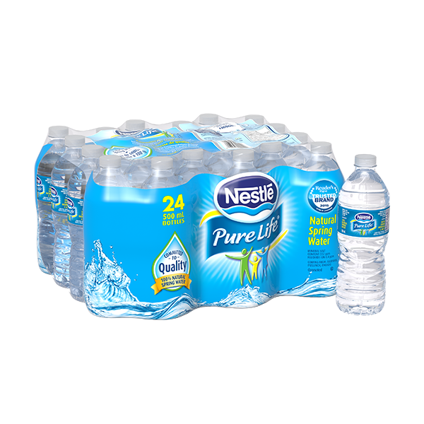 Nestlé® Pure Life® Natural Spring Water 4 L PET Bottle