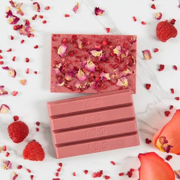 KIT KAT RUBY, Barre Saint Valentin à la fraise
