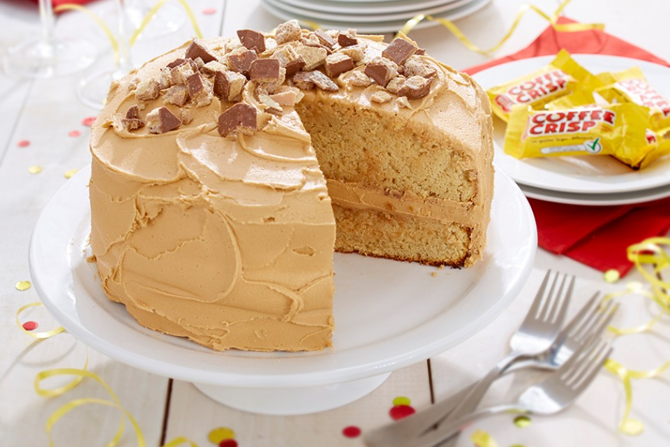 Coffee Crisp Birthday Cake Madewithnestle
