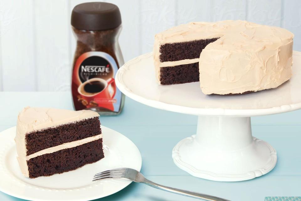 NESCAFÉ Chocolate Coffee Cake recipe.