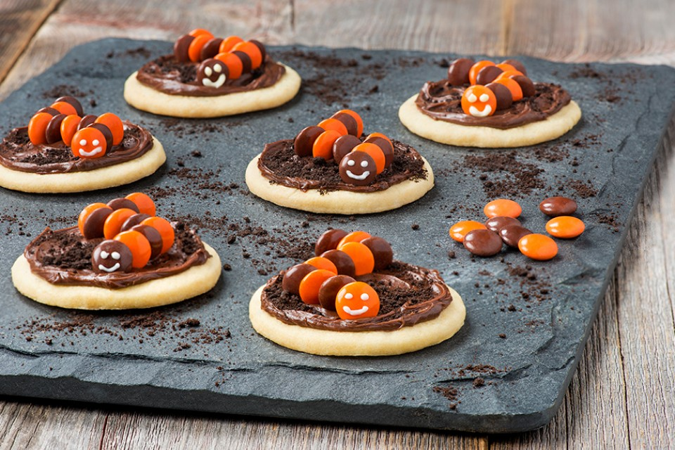 SCARIES Creepy Crawler Cookies Recipe will cause delight, not fright