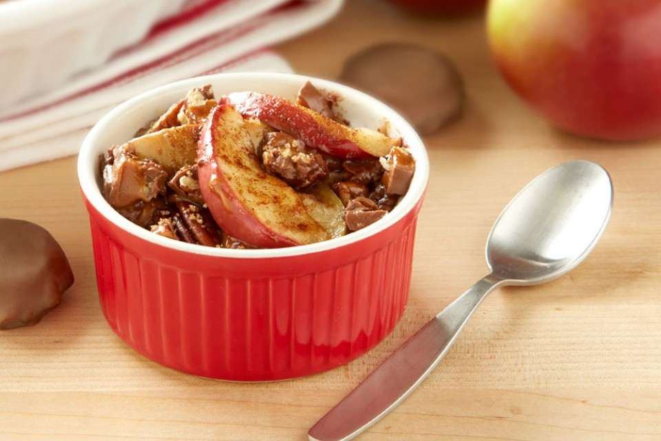 TURTLES Baked Apples recipe