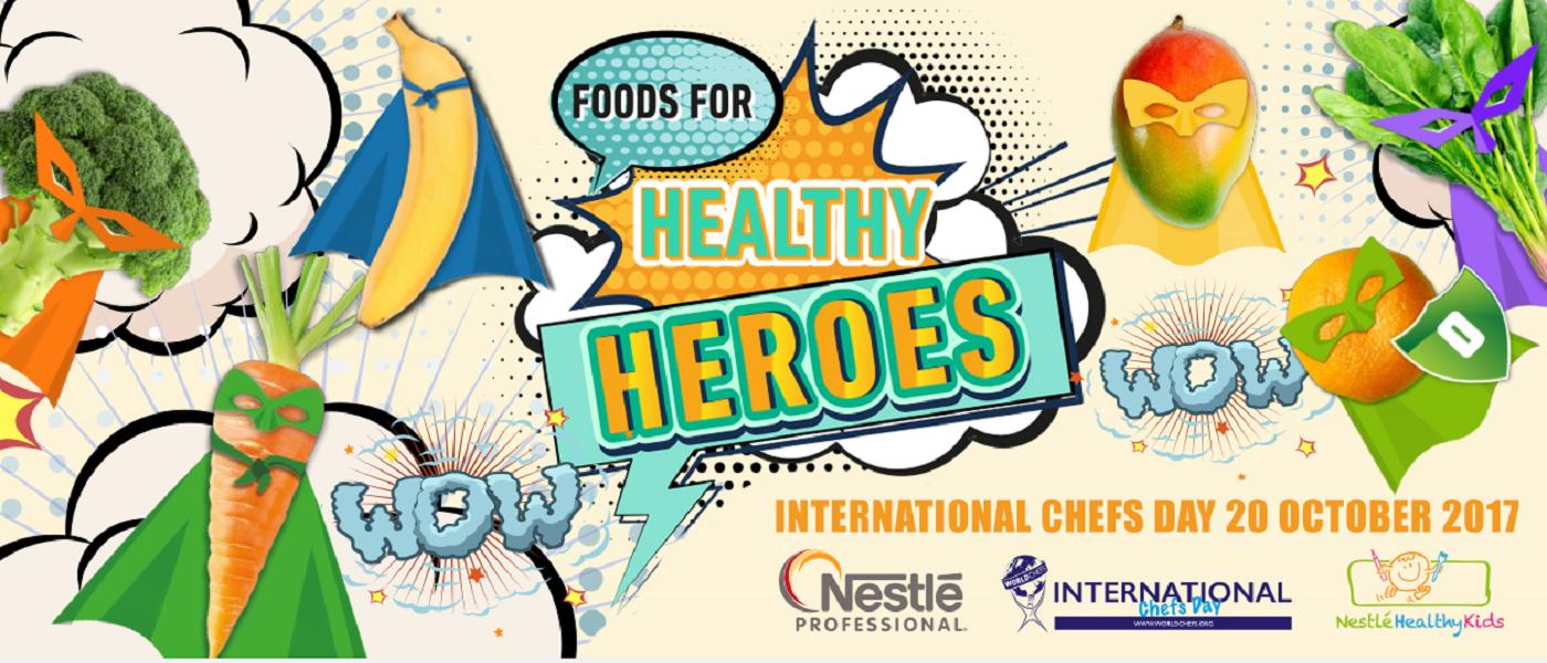 Foods for healthy heros